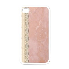 Guestbook Background Victorian Apple Iphone 4 Case (white)
