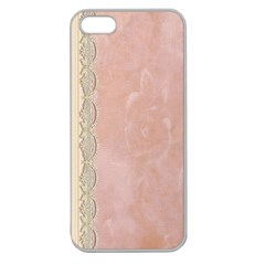 Guestbook Background Victorian Apple Seamless Iphone 5 Case (clear) by Nexatart