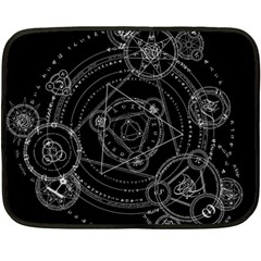 Formal Magic Circle Fleece Blanket (mini) by Nexatart