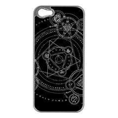 Formal Magic Circle Apple Iphone 5 Case (silver) by Nexatart