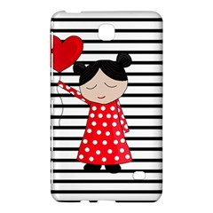 Valentines Day Girl 2 Samsung Galaxy Tab 4 (7 ) Hardshell Case  by Valentinaart
