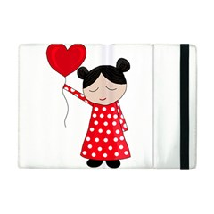 Girl In Love Apple Ipad Mini Flip Case