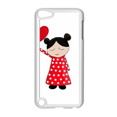 Girl In Love Apple Ipod Touch 5 Case (white) by Valentinaart