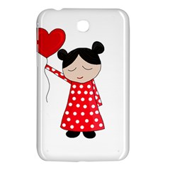 Girl In Love Samsung Galaxy Tab 3 (7 ) P3200 Hardshell Case  by Valentinaart