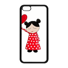 Girl In Love Apple Iphone 5c Seamless Case (black) by Valentinaart