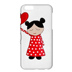Girl In Love Apple Iphone 6 Plus/6s Plus Hardshell Case by Valentinaart