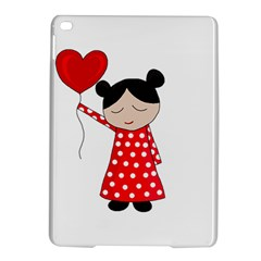 Girl In Love Ipad Air 2 Hardshell Cases by Valentinaart