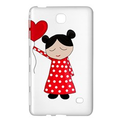 Girl In Love Samsung Galaxy Tab 4 (8 ) Hardshell Case  by Valentinaart