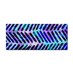 Blue Tribal Chevrons  Cosmetic Storage Cases by KirstenStar