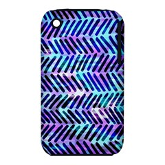 Blue Tribal Chevrons  Iphone 3s/3gs by KirstenStar