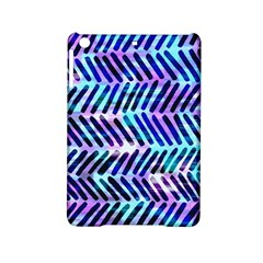 Blue Tribal Chevrons  Ipad Mini 2 Hardshell Cases