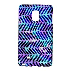 Blue Tribal Chevrons  Galaxy Note Edge by KirstenStar