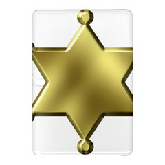 Sheriff Badge Clip Art Samsung Galaxy Tab Pro 12 2 Hardshell Case by Nexatart