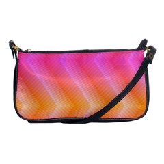 Pattern Background Pink Orange Shoulder Clutch Bags