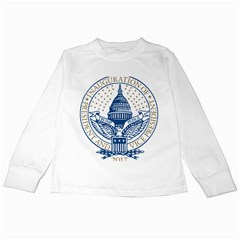Presidential Inauguration Usa Republican President Trump Pence 2017 Logo Kids Long Sleeve T Shirts