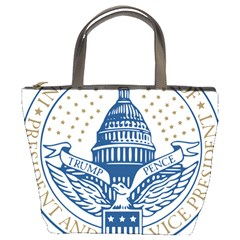 Presidential Inauguration Usa Republican President Trump Pence 2017 Logo Bucket Bags