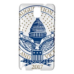 Presidential Inauguration Usa Republican President Trump Pence 2017 Logo Samsung Galaxy Note 3 N9005 Hardshell Case