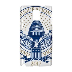 Presidential Inauguration Usa Republican President Trump Pence 2017 Logo Samsung Galaxy Note 4 Hardshell Case