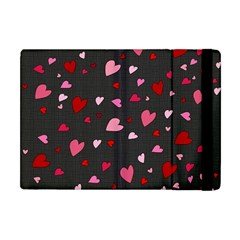 Hearts Pattern Apple Ipad Mini Flip Case by Valentinaart