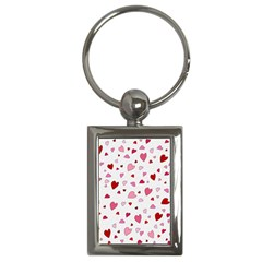 Valentine s Day Hearts Key Chains (rectangle)  by Valentinaart