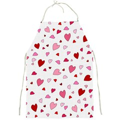 Valentine s Day Hearts Full Print Aprons
