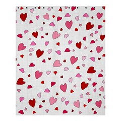 Valentine s Day Hearts Shower Curtain 60  X 72  (medium)  by Valentinaart