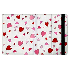 Valentine s Day Hearts Apple Ipad 2 Flip Case by Valentinaart