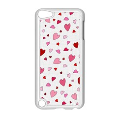 Valentine s Day Hearts Apple Ipod Touch 5 Case (white) by Valentinaart