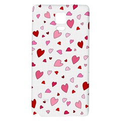 Valentine s Day Hearts Galaxy Note 4 Back Case by Valentinaart