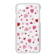 Valentine s Day Hearts Apple Iphone 7 Seamless Case (white) by Valentinaart