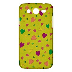 Colorful Hearts Samsung Galaxy Mega 5 8 I9152 Hardshell Case  by Valentinaart