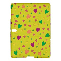Colorful Hearts Samsung Galaxy Tab S (10 5 ) Hardshell Case  by Valentinaart