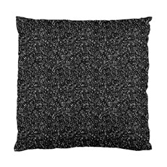 Gray Texture Standard Cushion Case (one Side) by Valentinaart