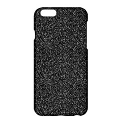 Gray Texture Apple Iphone 6 Plus/6s Plus Hardshell Case by Valentinaart