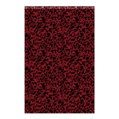 Red Coral Pattern Shower Curtain 48  X 72  (small)  by Valentinaart