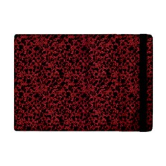 Red Coral Pattern Apple Ipad Mini Flip Case by Valentinaart
