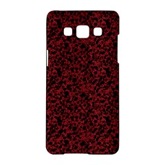 Red Coral Pattern Samsung Galaxy A5 Hardshell Case  by Valentinaart