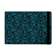 Blue Coral Pattern Apple Ipad Mini Flip Case by Valentinaart