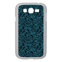 Blue Coral Pattern Samsung Galaxy Grand Duos I9082 Case (white) by Valentinaart