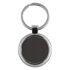 Gray Elegant Texture Key Chains (round)  by Valentinaart