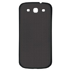 Gray Elegant Texture Samsung Galaxy S3 S Iii Classic Hardshell Back Case