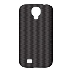 Gray Elegant Texture Samsung Galaxy S4 Classic Hardshell Case (pc+silicone) by Valentinaart