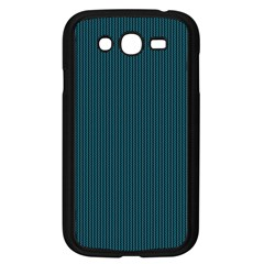 Blue Texture Samsung Galaxy Grand Duos I9082 Case (black) by Valentinaart