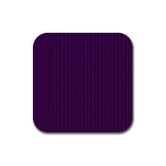 Purple Texture Rubber Square Coaster (4 Pack)  by Valentinaart
