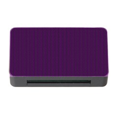 Purple Texture Memory Card Reader With Cf