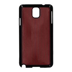 Red Texture Samsung Galaxy Note 3 Neo Hardshell Case (black) by Valentinaart