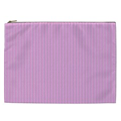 Pink Texture Cosmetic Bag (xxl)