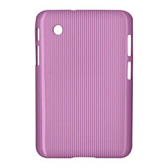 Pink Texture Samsung Galaxy Tab 2 (7 ) P3100 Hardshell Case  by Valentinaart