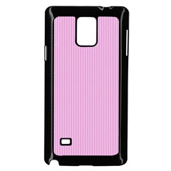 Pink Texture Samsung Galaxy Note 4 Case (black) by Valentinaart