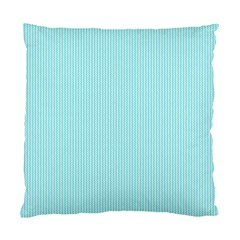 Light Blue Texture Standard Cushion Case (one Side) by Valentinaart